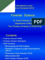 PhaseIII Bio L7 ForensicScience Ppt