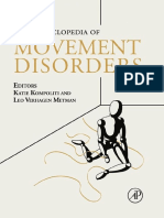 Encyclopedia of Movement Disorders (3 Volume Set)