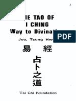 The Tao of Ching - Way to Divination - Tsung Hwa Jou (407p)