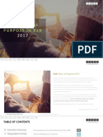 Timé Marketing | 2017 State of Purpose in B2B