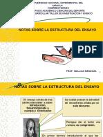 Notas Del Ensayo1 1