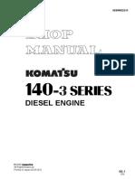 Shop Manual 6D140 3
