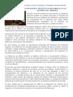 Aprobada en Primera Discusión El Proyecto de Reforma de La Ley Orgánica Del Ambiente