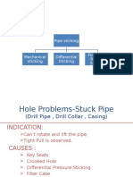 Drill Pipe Sticking