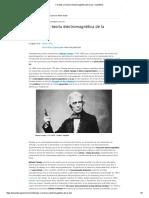 Faraday y La Teoría Electromagnética de La Luz - OpenMind