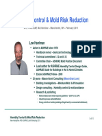 Mold and Humidity Control Presentation