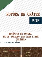 ROTURA DE CRATER