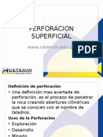 Perforacion Superficial