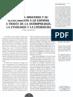 José María Arguedas y Su Acercamiento a Lo Español