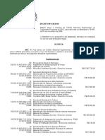 Dec 438 Orçamento Desapropriação