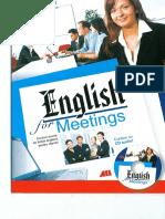 English for Meetings