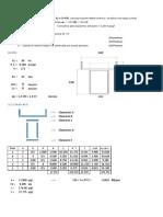 Verificación Seccion de Acero