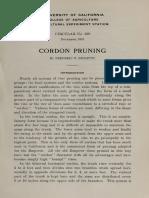 Cordon Pruning
