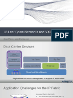Sean Flack - Arista - L3 Leaf Spine Networks and VXLAN