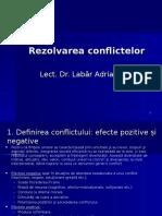 Rezolvarea Conflictelor