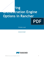 Comparing Rancher Orchestration Engine Options