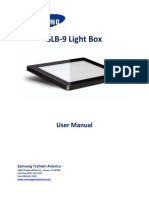 SLB 9 Manual