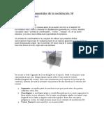 Conceptos fundamentales de la modelación 3d