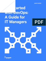 Puppet Wp Devops Get Started Guide for It Managers