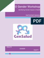 TX ORGANIZACION PANAMERICANA SALUD GenderWorkshopIdentifyingGenderIssuesHealth