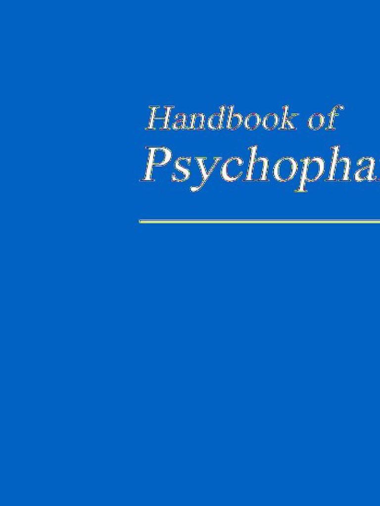 62d8cd7b41 HB of Psychopharmacology
