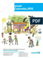 Unicef Informe Anual 2015