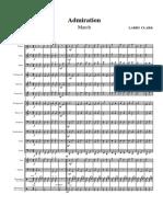 ADMIRATION Escolar - Score + Partes
