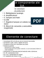 Elemente Componente Ale SIA 1
