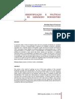 Secas, Desertificação e Políticas Públicas No Semiárido Nordestino Brasileiro