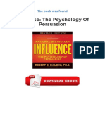 Influence the Psychology of Persuasion PDF