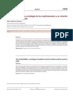 LA NANA 2009 Una Sociología de Los Medicamentos y Su Relación