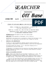 Peace Researcher Vol1 Issue15 Oct 1987
