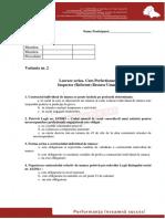 Test Varianta 2 New Profesional Consult - IRU