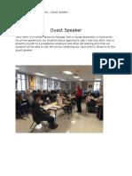 ent guest speaker empl