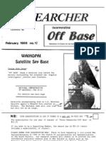 Peace Researcher Vol1 Issue17 Feb 1988