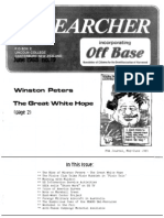 Peace Researcher Vol1 Issue19 June 1988
