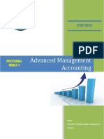 15 Advanced Management Accounting