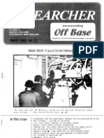 Peace Researcher Vol1 Issue22 Mar 1989