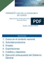 Perspectivas de la Econom+_a de Cusco_04-10-2016