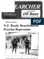 Peace Researcher Vol1 Issue29 Aug 1991