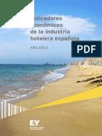EY Indicadores Industria Hotelera Spain 2013