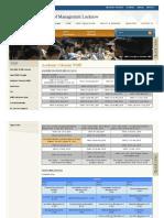 Academic Calendar WMP _ _ IIML