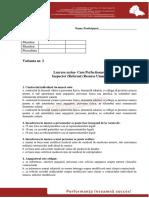 Test Varianta 3 New Profesional Consult - IRU
