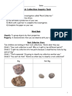 rock inquiry task page