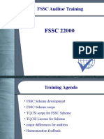 FSSC Auditor Training