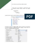 Manual de un CRUD de una Entidad libros en jdbc.docx