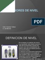 Presentacion Digital de Medidores de Nivel
