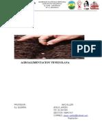 agroalimentacion en venezuela