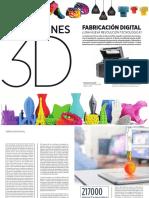 Impresión 3D y Fabricación Digital