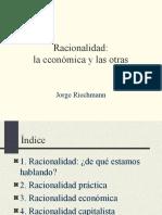 Racionalidad y Economc3ada